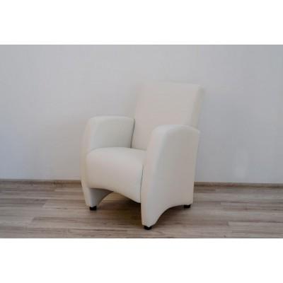 """Кресло """"Синди"""" (белая экокожа)"""